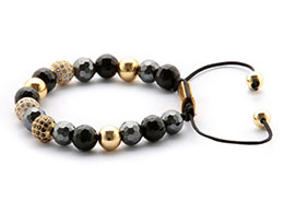 Qvist Studios Jewelry, 24k Black Diamond