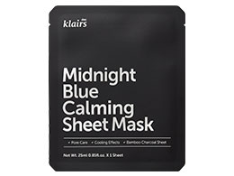 Klairs Midnight Blue Calming Sheet Mask, 25ml