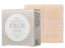 Klairs Face - Rich Moist Facial Soap, 120ml