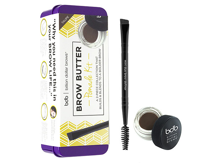 Billion Dollar Brows - Brow Butter Pomade Kit , Taupe big image 0