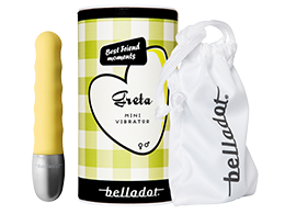 Belladot - Greta Mini Vibrator, Yellow