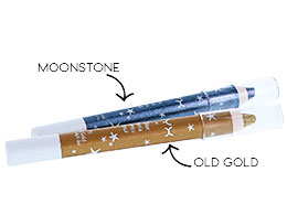 NYX Cosmetics Glitter Mania Jumbo Pencil, Moonstone 02