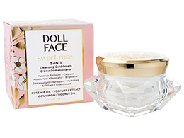 Doll Face Sweet Rose 5-in-1 Cleansing Cold Cream, 47ml