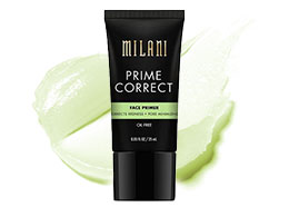 Milani Prime Correct Face Primer - Anti-Redness, 25 ml