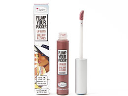 theBalm Plump Your Pucker - Lip Gloss, Exaggerate