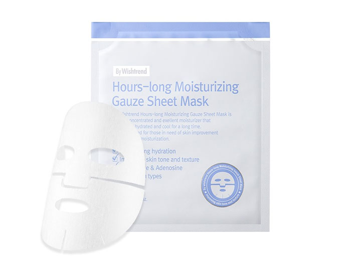 By Wishtrend - Hours-Long Moisturizing Gauze Sheet Mask big image 0