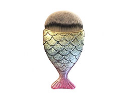 Mermaid Salon - the Original Chubby Mermaid Brush, Rainbow Fish