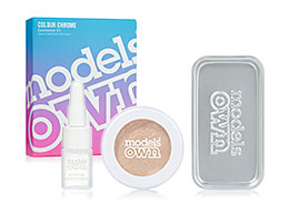 Models Own Colour Chrome Eyeshadow Kit, Golden Lights CCK04