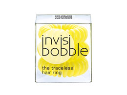 Invisibobble Spiralhårstrikk Yellow, 3 stk