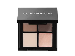 glo-minerals Brow Quad, Brown