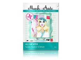 MaskerAide Hydrating Facial Sheet Mask, All Nighter