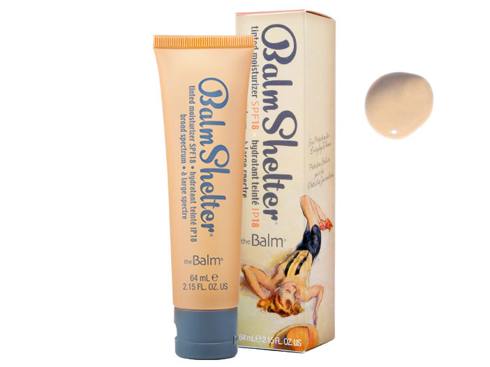 theBalm BalmShelter Tinted Moisturizer SPF 18 - lighter than light big image 0