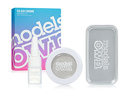 Models Own Colour Chrome Eyeshadow Kit, Platinum CCK01
