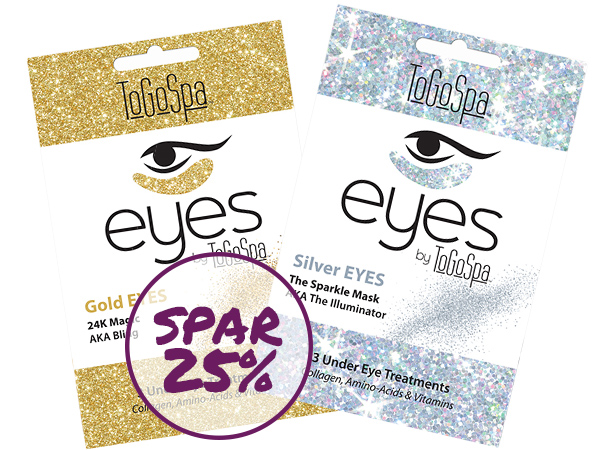SPAR 25% - Gold & Silver Sparkle Mask