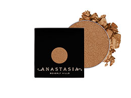 Anastasia Single Eyeshadow, Penny Metal