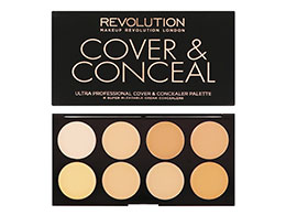 Makeup Revolution - Cover & Concealer Palette, Light