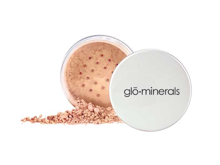 UTGÅTT glo-minerals Loose Powder, Beige Dark 10,5gr big image 0