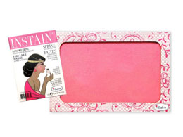 theBalm Instain Cheek Stain Blush, Lace (Bright Pink)