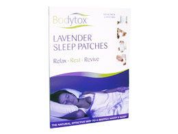 Bodytox Lavender Sleep Patches, 2 stk