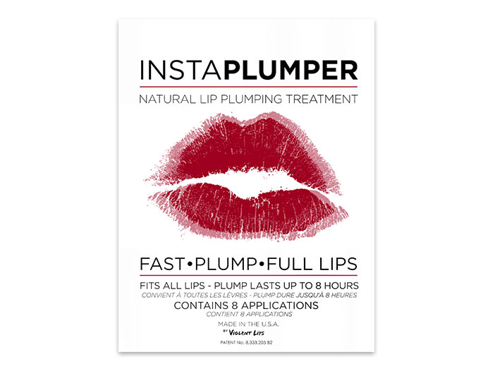 Violent Lips InstaPlumper - Lip Plumping Treatment, 8 pk big image 0