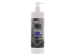 Fudge Clean Blonde Violet Toning Conditioner, 1000ml