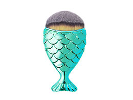 Mermaid Salon - the Original Chubby Mermaid Brush, Aqua