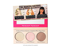 theBalm, The Manizer Sisters