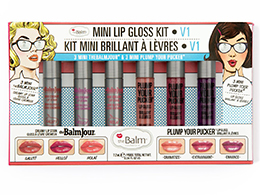 theBalm Mini Lip Gloss Set, Vol 1
