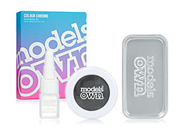 Models Own Colour Chrome Eyeshadow Kit, Chromium Emerald CCK10
