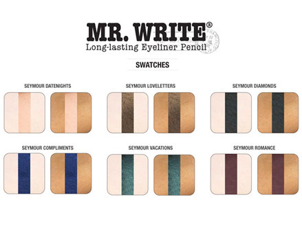 theBalm Mr. Write Eyeliner Pencil, Compliments Blue middle image 0