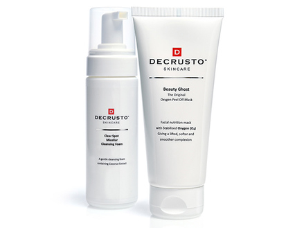 Decrusto Beauty Ghost Mask & GRATIS Cleanser middle image 0
