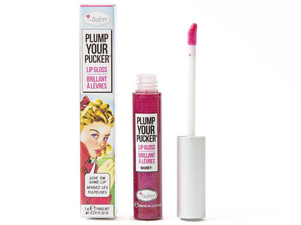 theBalm Plump Your Pucker - Lip Gloss, Magnify middle image 0