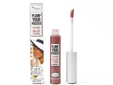 theBalm Plump Your Pucker - Lip Gloss, Exaggerate middle image 0