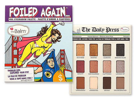 theBalm Foiled Again palette middle image 0
