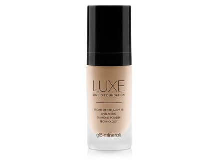 glo-minerals Luxe Liquid Foundation SPF 18, Naturelle middle image 0