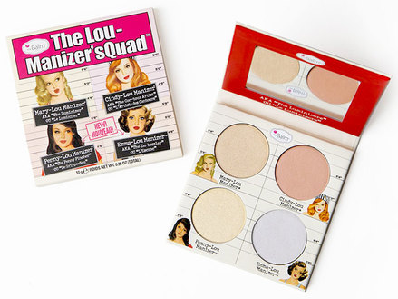 theBalm Lou-Manizer'sQuad Highlighter Palette middle image 0