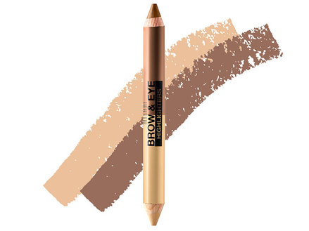 Milani Brow & Eye Highlighter, Vanilla/Natural Taupe MBH-03 middle image 0