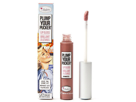 theBalm Plump Your Pucker - Lip Gloss, Dramatize middle image 0