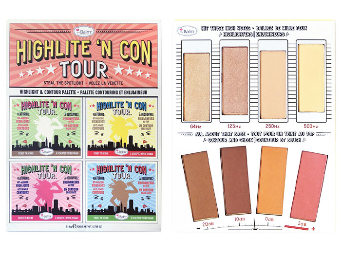 theBalm Highlite 'N Con Tour Palette middle image 0