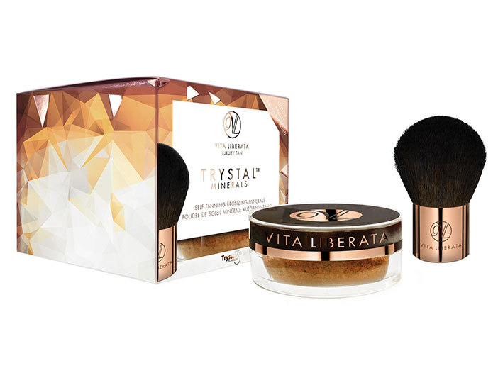Vita Liberata - Trystal Mineral Self Tanning Bronzing - Sunkissed 01, 9g. middle image 0