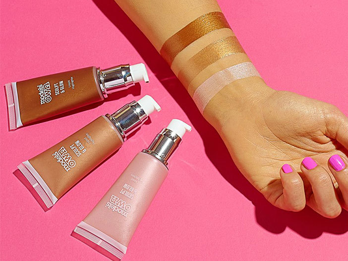 Models Own Sculpt & Glow - Liquid Highlighter, Luster LIH03 middle image 0