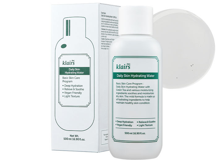 Klairs - Daily Skin Hydrating Water, 500ml middle image 0