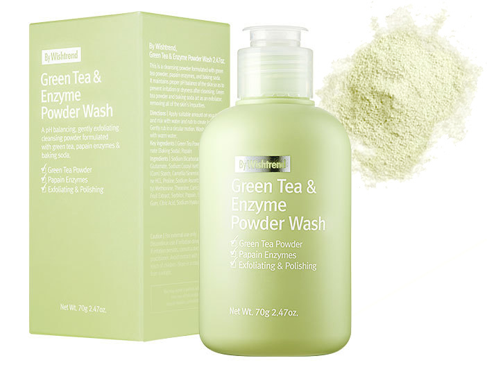 By Wishtrend - Green Tea & Enzyme Powder Wash, 70g middle image 0