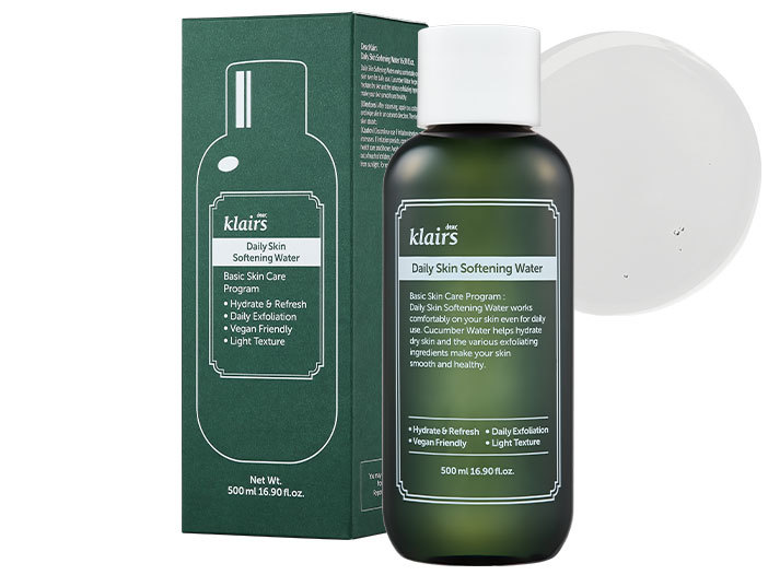 Klairs - Daily Skin Softening Water, 500ml middle image 0