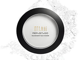 Milani Prep   Set   Go, Transparent Face Powder 01