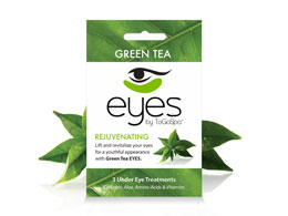 ToGoSpa - Rejuvenating Green Tea Eye Mask 3 pk