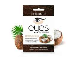 ToGoSpa - Replenishing Coconut Eye Mask 3 pk