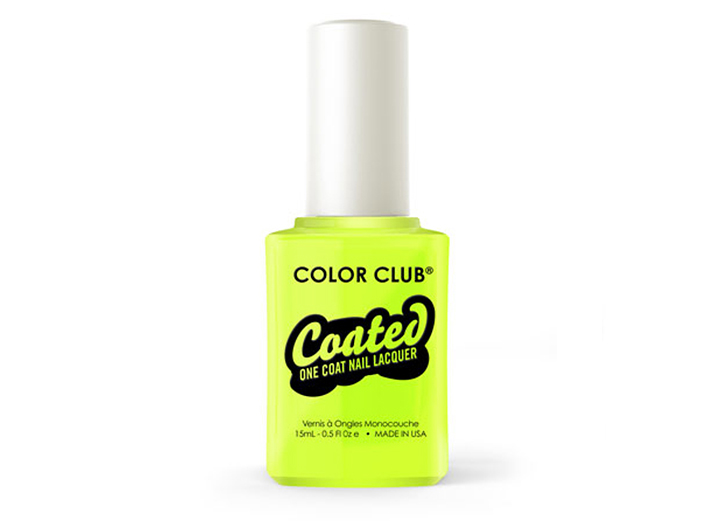 Color Club - One Step Coated Nail Polish - Yellin' Yellow, 15ml big image 0