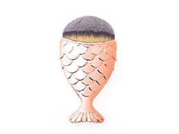 Mermaid Salon - the Original Chubby Mermaid Brush, Rose Gold