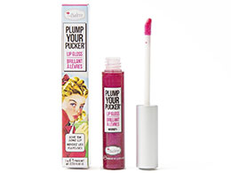 theBalm Plump Your Pucker - Lip Gloss, Magnify